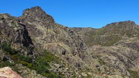 A rocky mountain in Portugal. Day  portugal  rocky mountain nature stock images