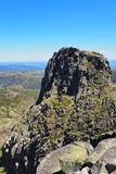 A  rocky mountain in Portugal royalty free stock photography