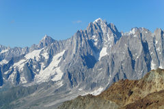 Rocky mountain range in the Alps Royalty Free Stock Photography