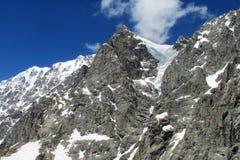 Rocky mountain range Stock Images