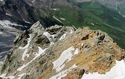 Rocky mountain range Royalty Free Stock Photos