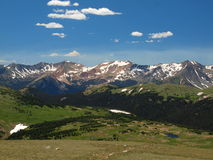 Rocky Mountain Range Stock Images