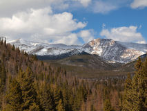 Rocky Mountain Range Royalty Free Stock Image