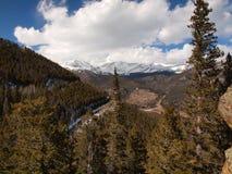 Rocky Mountain Range Stock Photography