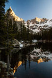 Rocky Mountain Reflection Stock Image