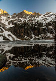 Rocky Mountain Reflection Royalty Free Stock Image