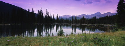 Rocky Mountain Reflections Royalty Free Stock Photography