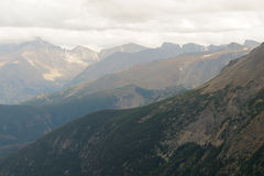 Rocky Mountain ridges Royalty Free Stock Images