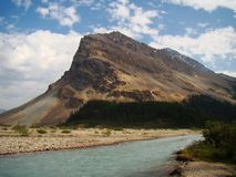 Rocky Mountain River Stock Photography