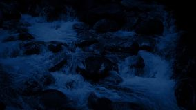 Rocky Mountain River At Night metrajes