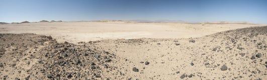 Rocky mountain slope in a desert stock photos