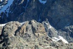 Rocky mountain summit Stock Image