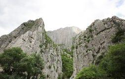 Rocky mountain top Stock Photo