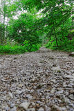 Rocky mountain trail. In Europe Stock Photography