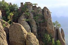Rocky mountain view Stock Image