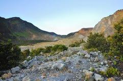 Rocky Mountain View on Papandayan Royalty Free Stock Photo