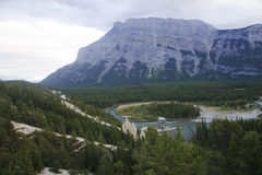 Rocky Mountain - view of the rock formation Hoodoos in and aroun Stock Image