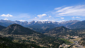 Rocky Mountain Views Royalty Free Stock Image