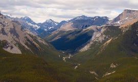 Rocky Mountain Vista Royalty Free Stock Photography