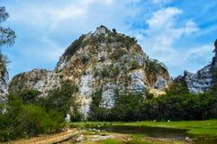 Rocky Mountain von Thailand Stockfoto