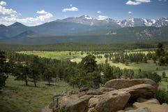 rocky mountain widok Obraz Royalty Free