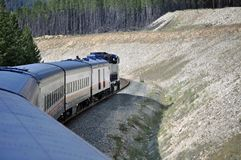 Rocky Mountaineer royalty free stock images