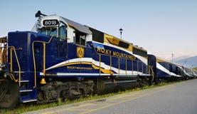 Rocky Mountaineer Train immagini stock libere da diritti