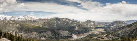 Rocky MountainPanorama Royalty Free Stock Images