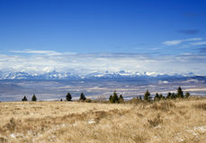 Rocky mountains royalty free stock photography
