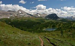 Rocky Mountains. The rocky mountains Banff Canada Stock Photos