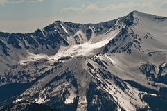Rocky Mountains. Peaks of the Rockies in National Park Colorado Stock Image