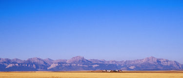 The Rocky mountains. In panorama Stock Image