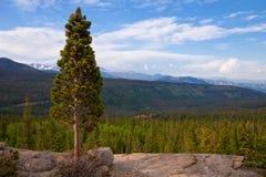 Rocky Mountains. Vista point at Rocky Mountain National Park, Colorado Stock Photo