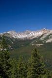 Rocky Mountains. Mountains taken in the Rocky Mountain National Park, Colorado stock photo