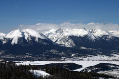 Rocky Mountains. View of Rocky Mountains royalty free stock photography