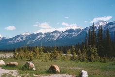 Rocky Mountains. Canada royalty free stock image
