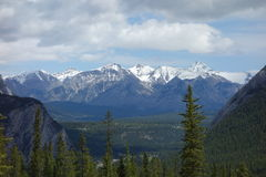 The rocky mountains in all their glory. Stock Images