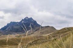 Rocky Mountains Andes Range Quito Ecuador Stock Photography