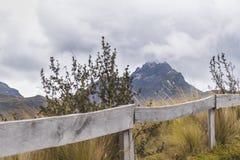 Rocky Mountains Andes Range Quito Ecuador Royalty Free Stock Image