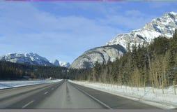 Rocky Mountains auf Hoch Lizenzfreie Stockbilder