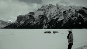 Rocky Mountains in Banff, Canada Royalty Free Stock Photo