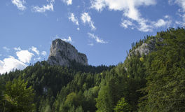 Rocky mountains - Bicaz - Romania Royalty Free Stock Photos