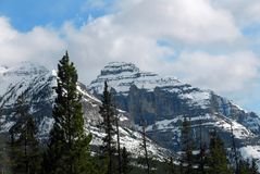 Rocky Mountains in British Columbia Stock Photo