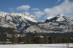 Rocky Mountains, Canada. Canadian Rocky Mountains give us feeling of real freedom, mostly untouched, wild and formed by power of nature Royalty Free Stock Photo