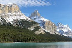 Rocky Mountains - Canada. Rocky mountains, Canada at Wintertime stock photos