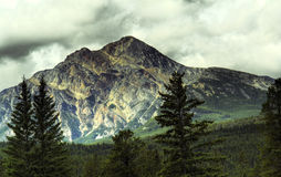 Rocky Mountains Canada Stock Image