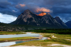 Rocky Mountains, Canada Royalty Free Stock Images