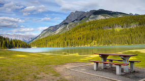 Rocky Mountains Canada Stock Photography