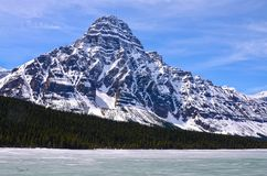 Rocky Mountains, Canada. Scenic view of the Rocky Mountains, Canada royalty free stock photos