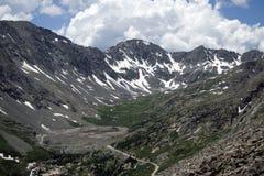 Rocky Mountains In Colorado maestoso Fotografia Stock Libera da Diritti